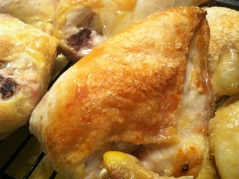 roast chicken pieces