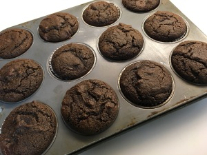 Chocolatey Chocolate Muffins